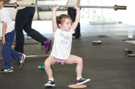 Second Grade Teacher Converts Classroom into Crossfit Gym