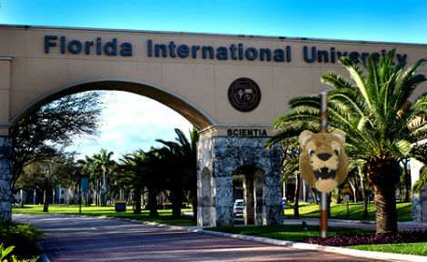FIU President Holds Clowns Captive in Message to Youth Fair