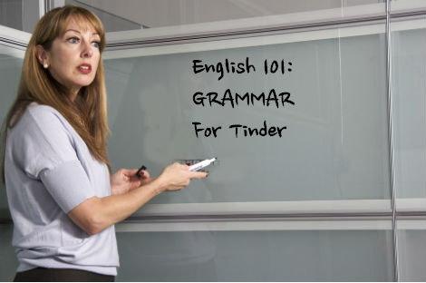 "College to Offer ""Grammar for Tinder"" Course"