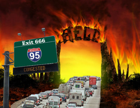I-95 Discovered to Be Literal Highway To Hell