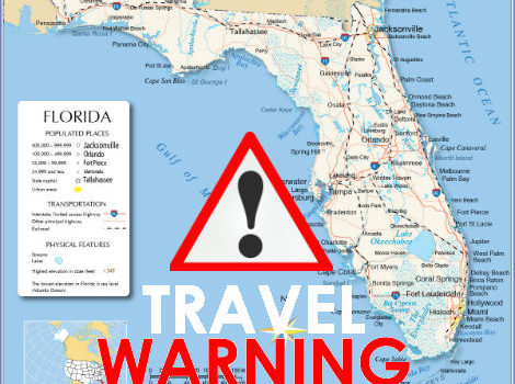 Federal Government Issues Travel Warning For Florida