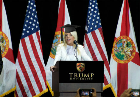 Florida's Attorney General Pam Bondi Received Honorary Law Degree From Trump University