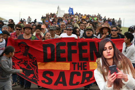 """Nation Kind of """"Meh"""" About Standing Rock Protest"""