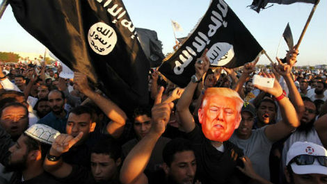 ISIS Claims Responsibility For Trump Presidency