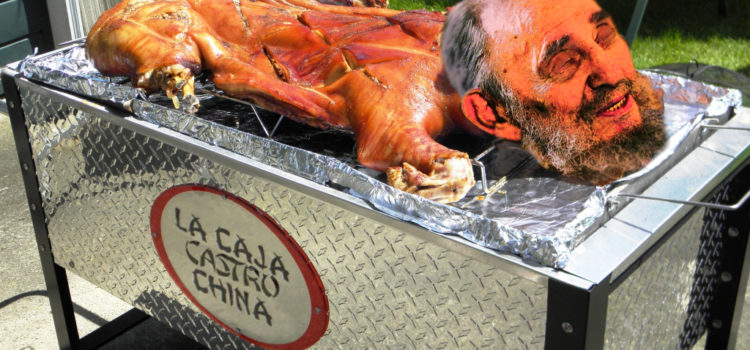 Hell Debuts Long-Awaited Caja China for Castro's Arrival