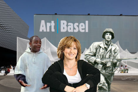 A Poor Black Man, Suburban Mom, and Time Traveler's Guide to Art Basel