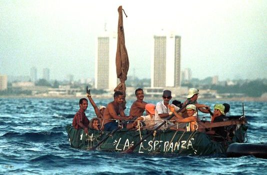 Cubans Already Here Rejoice At Repeal of Wet Foot/Dry Foot
