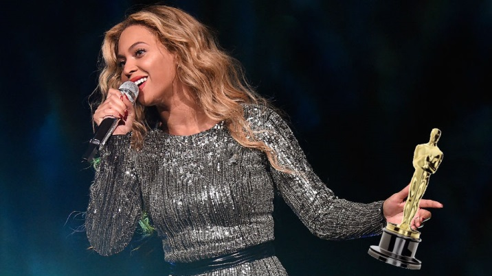 What does Beyoncé have to do to win an Oscar?