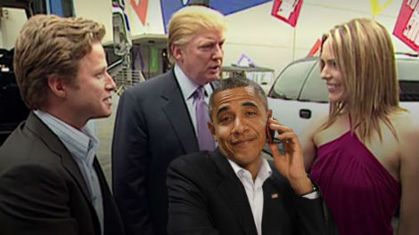 Trump Also Accuses Obama of Wire Tapping Access Hollywood Bus