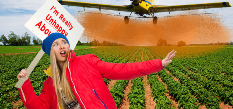 EPA Approves Crop-Dusting of Protesters
