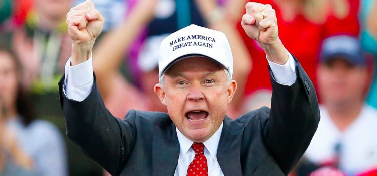 Jury Convicts Woman of Laughing at Jeff Sessions' Penis