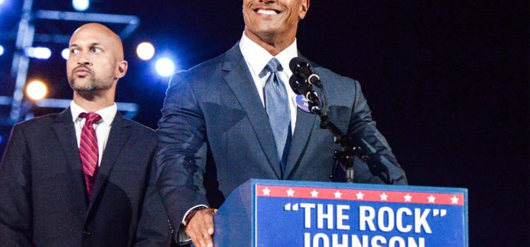 The Rock is Running For President and Satire is Dead.