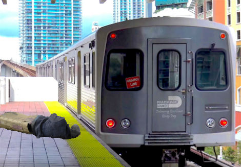 Passed Out Man on Train Named Head of Miami Transit Authority