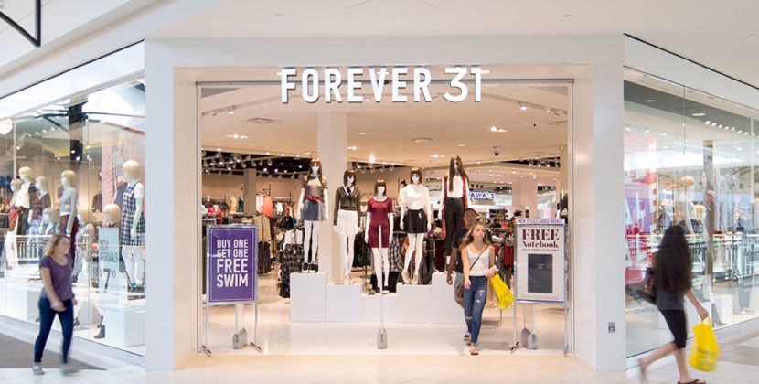 Forever 21 Rebrands as Forever 31 in Appeal to Aging Fans