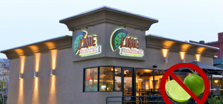 Lime Runs out of Lime: Disqualified from Burrito Wars