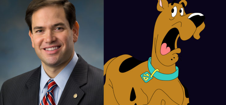 Five Ways Marco Rubio Is Just Like Scooby-Doo