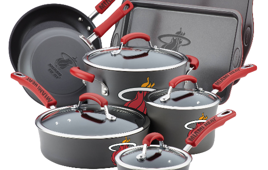 Miami Heat to Release Official Line of Pots and Pan