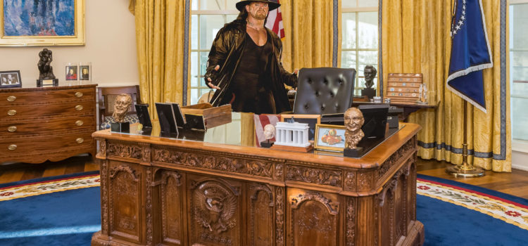 Screw The Rock: Five Reasons The Undertaker Should be President