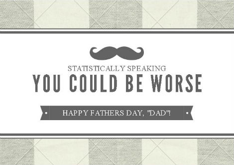 Woman Markets Father's Day Cards For Bad Fathers