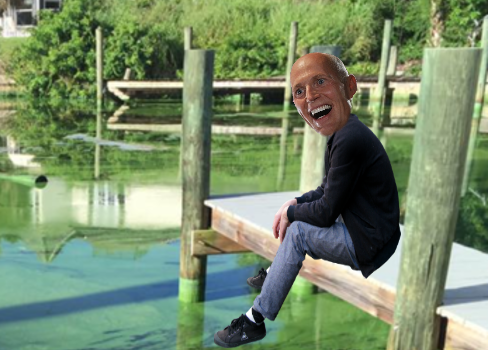 Algae Blooms Reportedly Remind Rick Scott of Home Planet