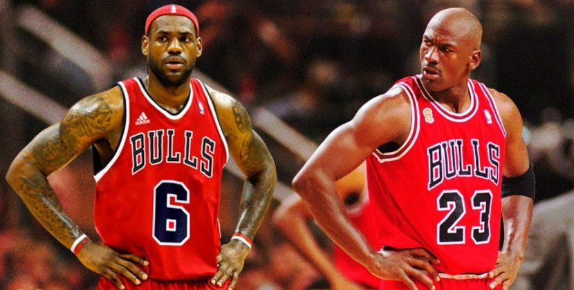 Lebron To Join 97′ Bulls