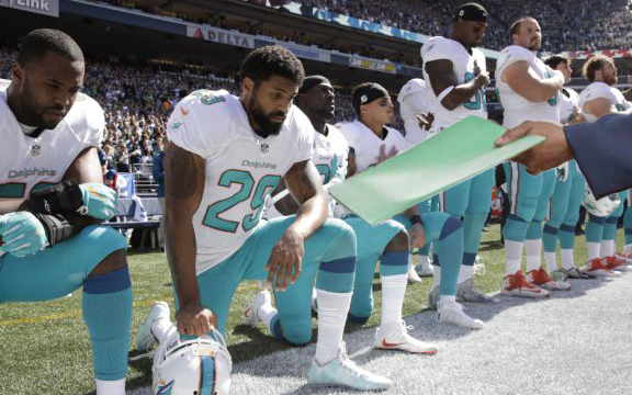 Dolphins To Punish Anthem Protesters With Contract Extension