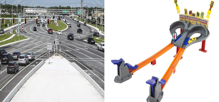 New Dolphin Expressway Interchange Modeled After Hot Wheels Set