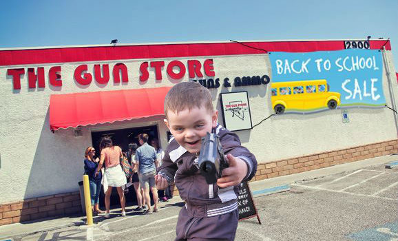 "Florida Gun Shop Offers ""Back to School"" Sales to Shoppers"