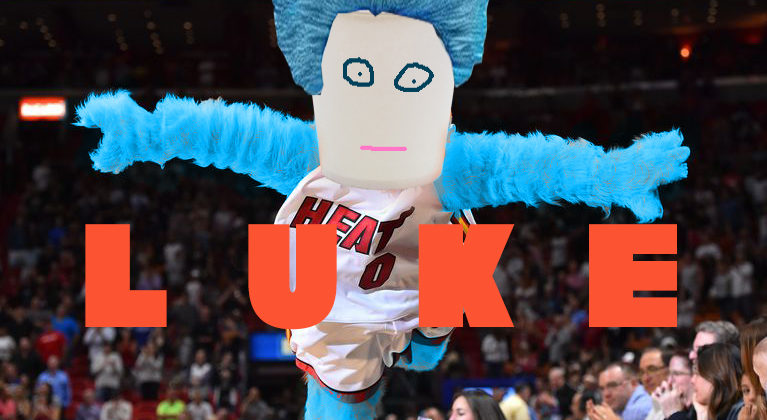 Meet Your New Miami HEAT Mascot: Luke, The Lukewarm Cup of Water!