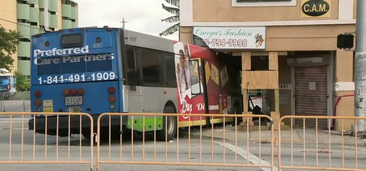 Bus Lodged in Building Rented As Luxury Apartment. Only $3300/month.