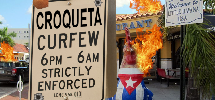 Citywide Curfew Declared for Croqueta Day