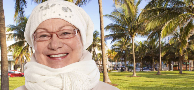 70 Year-Old Miami Child Still Waiting for Snow