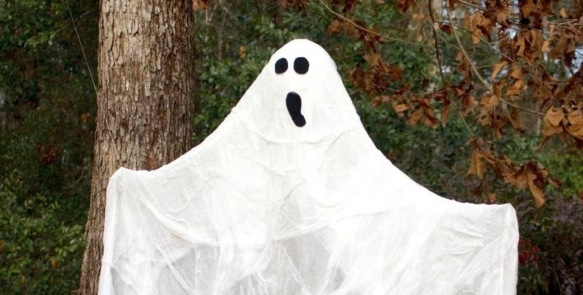 Spooky Halloween Decoration Worries Anxious Child