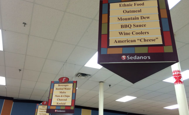 Sedano's Supermarkets Launches New Ethnic Food Aisles for Anglos