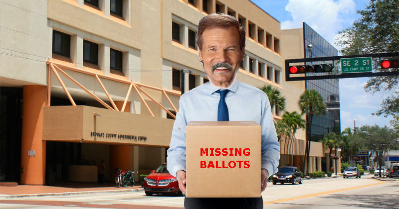 15,000 Missing Florida Ballots Uncovered By Mystery Mustachioed Man