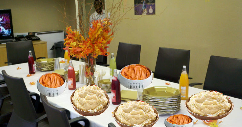 Office Potluck Features 15 Side Dishes and No Entrees