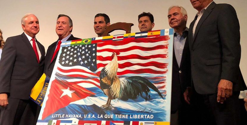 This is The New Little Havana Flag? Is It? It Is.