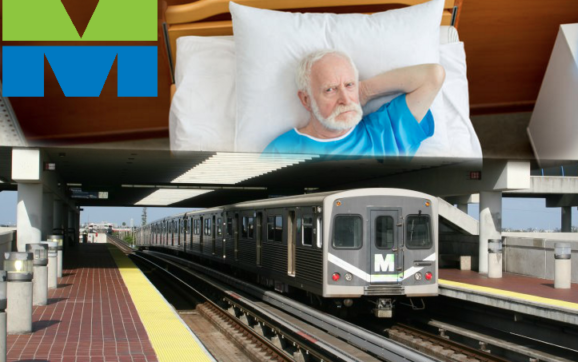 Man Awakens From 30-Year Slumber, Realizes Metro Rail Still Does Not Connect To Beach