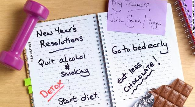 Local Man Already Breaks New Year's Resolution