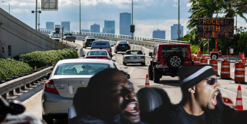 In Bad Boys 3 Will Smith and Martin Lawrence Fight Miami Traffic