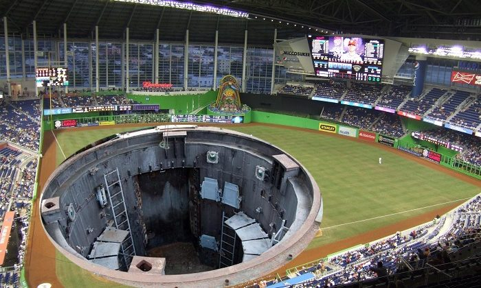 Marlins Install Retractable Stadium Floor
