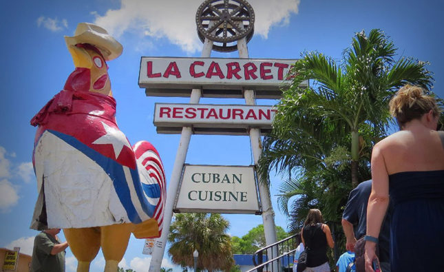 White Dude Ordering At La Carreta Told To Go Back To His Country
