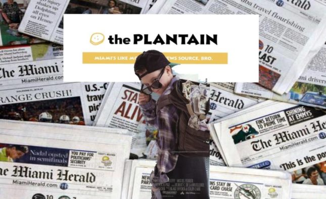 The Plantain Purchased By Miami Herald Publisher McClatchy