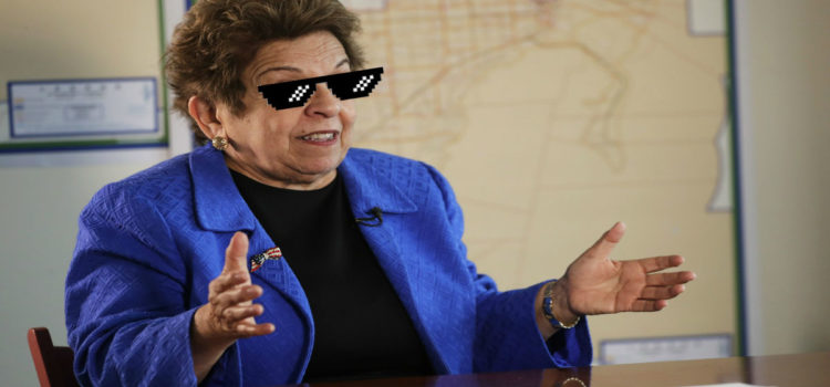 """I was only 78!"" Donna Shalala Blames Recent Federal Crime On Misspent Youth"