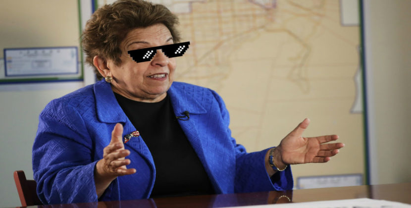 """I was only 78!"" Donna Shalala Blames Most Recent Federal Crime On Misspent Youth"