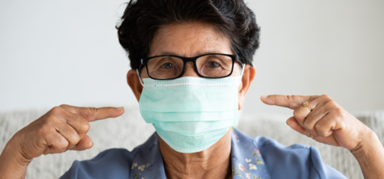 CDC Confirms This Inexpensive Device Can Reduce Chance Of Catching Coronavirus By 95%…It's A Mask. Wear A Mask.