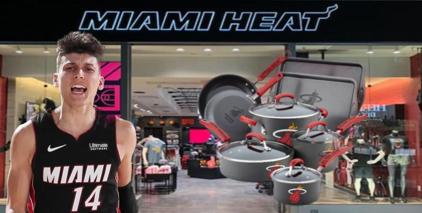 Miami Heat to Release Official Line of Pots and Pans
