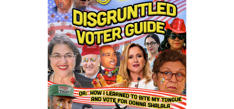 The Plantain's Disgruntled Voter Guide or: How I Learned To Bite My Tongue And Vote For Donna Shalala